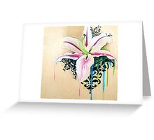 Raw Greeting Card