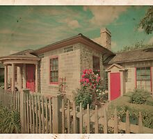 Vintage Cottage by Steve Silverman