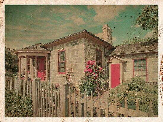 Vintage Cottage by Steve Silverman