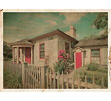 Vintage Cottage Photographic Print