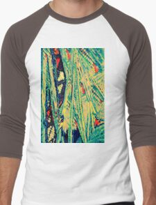 Textile Textures Men's Baseball ¾ T-Shirt