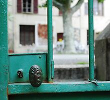 Green Doorway by nadinecreates