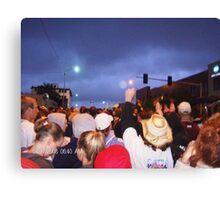 Oklahoma City Memorial Marathon Canvas Print