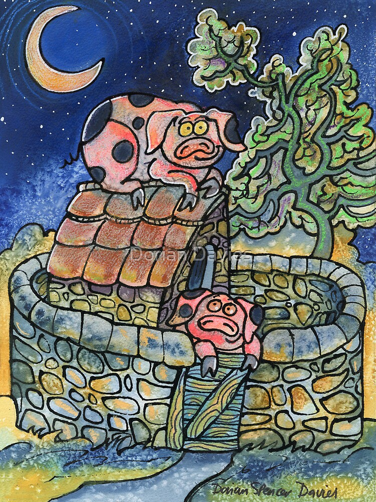 Piggler on the roof! by Dorian Davies