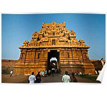 Brihadishwara Temple Gate Poster