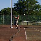 Litter tennis by JamieLA