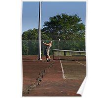 Litter tennis Poster