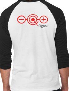 Noisy signal Men's Baseball ¾ T-Shirt