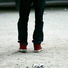 Red Shoes by Virginia Kelser Jones