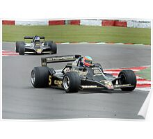 JPS Lotus F1of Ronnie Peterson Poster