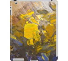 African quartz macro iPad Case/Skin