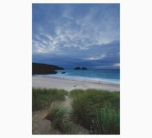 Holywell Bay Sunset One Piece - Short Sleeve