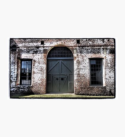 Railway Door Photographic Print
