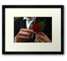 Finishing Touch Framed Print