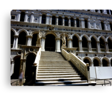 Giants' Staircase in Doge's Palace, Venice Canvas Print