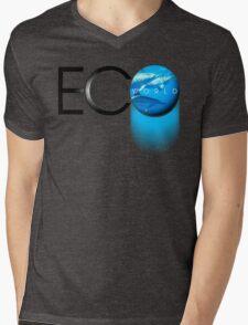 eco world Mens V-Neck T-Shirt