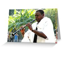 Homage to Satchmo Greeting Card