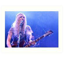 Courtney Love in London 2  Art Print