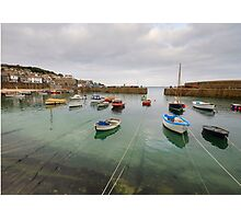 Mousehole Harbour Photographic Print