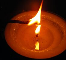 Candles are contagious by Margaret Walker