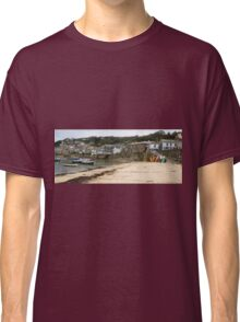 Mousehole Harbour Cornwall England  Classic T-Shirt