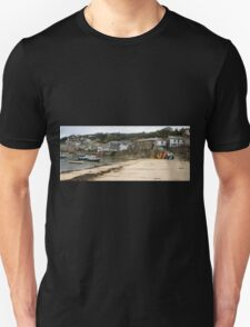 Mousehole Harbour Cornwall England  T-Shirt