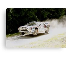Taking The Crest at Speed Canvas Print