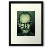Bryan Cranston Caricature Framed Print