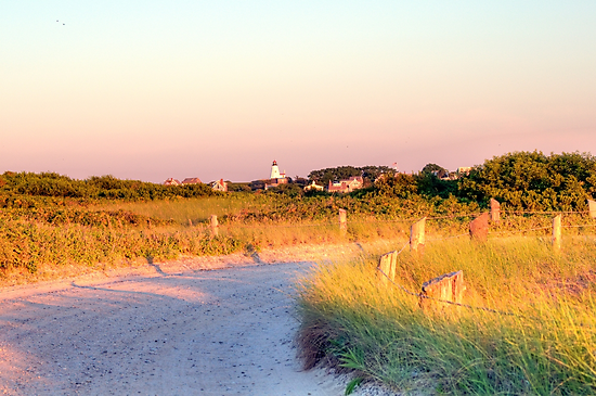 Sun Going Down on Beach Road by Monica M. Scanlan
