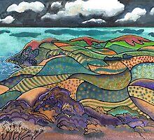 Patchwork Landscape, Pembrokeshire by Dorian Davies