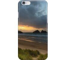 Holywell bay newquay cornwall iPhone Case/Skin