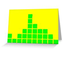 Series:27 episode 4 in yellow and green Greeting Card