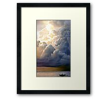 Pareidolia (Tell me what you see) Framed Print