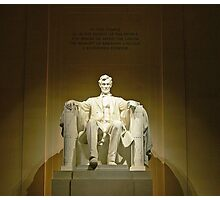 Lincoln Memorial-Washington, DC Photographic Print