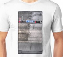 Canal in the Rain Unisex T-Shirt