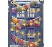 Doctor Who Christmas Tardis  iPad Case/Skin