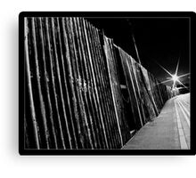 Back Street Decay Canvas Print