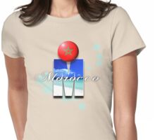 morocco Womens Fitted T-Shirt