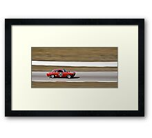 Red Alfa Romeo GTA Mosport Racing Framed Print
