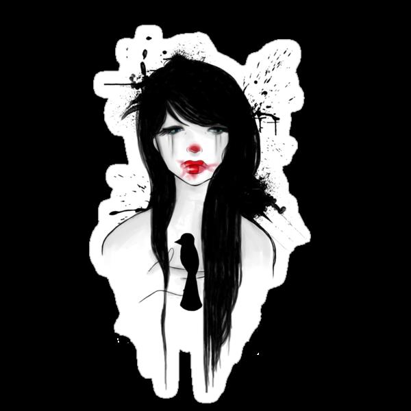 Clown girl II by lunaticpark