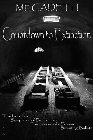 Countdown to extinction .... Megadeth DVD cover by ragman