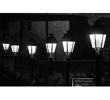 Street Lamps 9180 Photographic Print