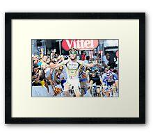 Mark Cavendish Framed Print