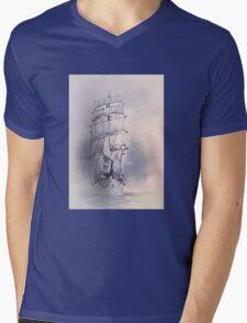 Sea stories 4 ........ Mens V-Neck T-Shirt