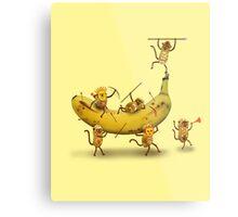 Monkeys are nuts Metal Print