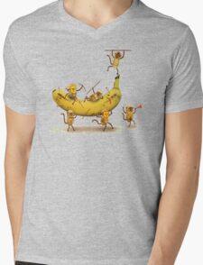 Monkeys are nuts Mens V-Neck T-Shirt
