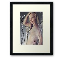 All Wet Framed Print