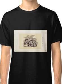 Floral Designs Series I a hand book for cut flower workers and florists John Horace McFarland 1888 0099 Shoe Filled With Roses Classic T-Shirt