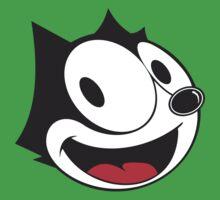 Felix The Cat !! One Piece - Short Sleeve