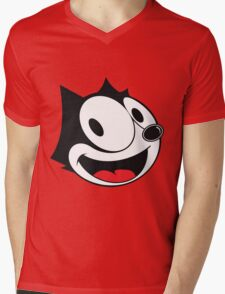 Felix The Cat !! Mens V-Neck T-Shirt